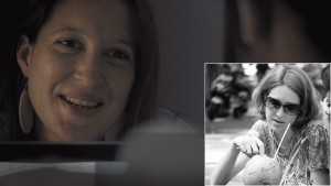 Francoise Gachet, starring in the film as Kelly Sanders, Sean Fletcher's girlfriend. The key cast of 'Reconnection', a multi-award winning film.