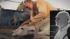Kurma Rupa, featuring in the film as himself, the founder of Care For Cows, an initiative brought up for the protection and care of stray and sick cows of Vrindavan. The key cast of 'Reconnection', a multi-award winning film.