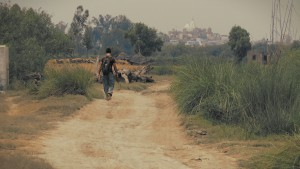 It's never too late to start walking in the right direction. Listen to what the world tells you and choose a path with heart. Sean Fletcher walks down the rural path by Nandagram, a still from the award-winning film 'Reconnection'.