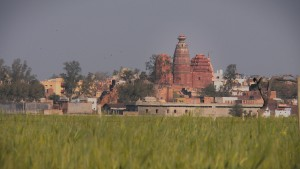 Madan Mohan Temple, Vrindavan, India.