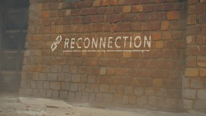 'Reconnection', a still from the opening film credits.