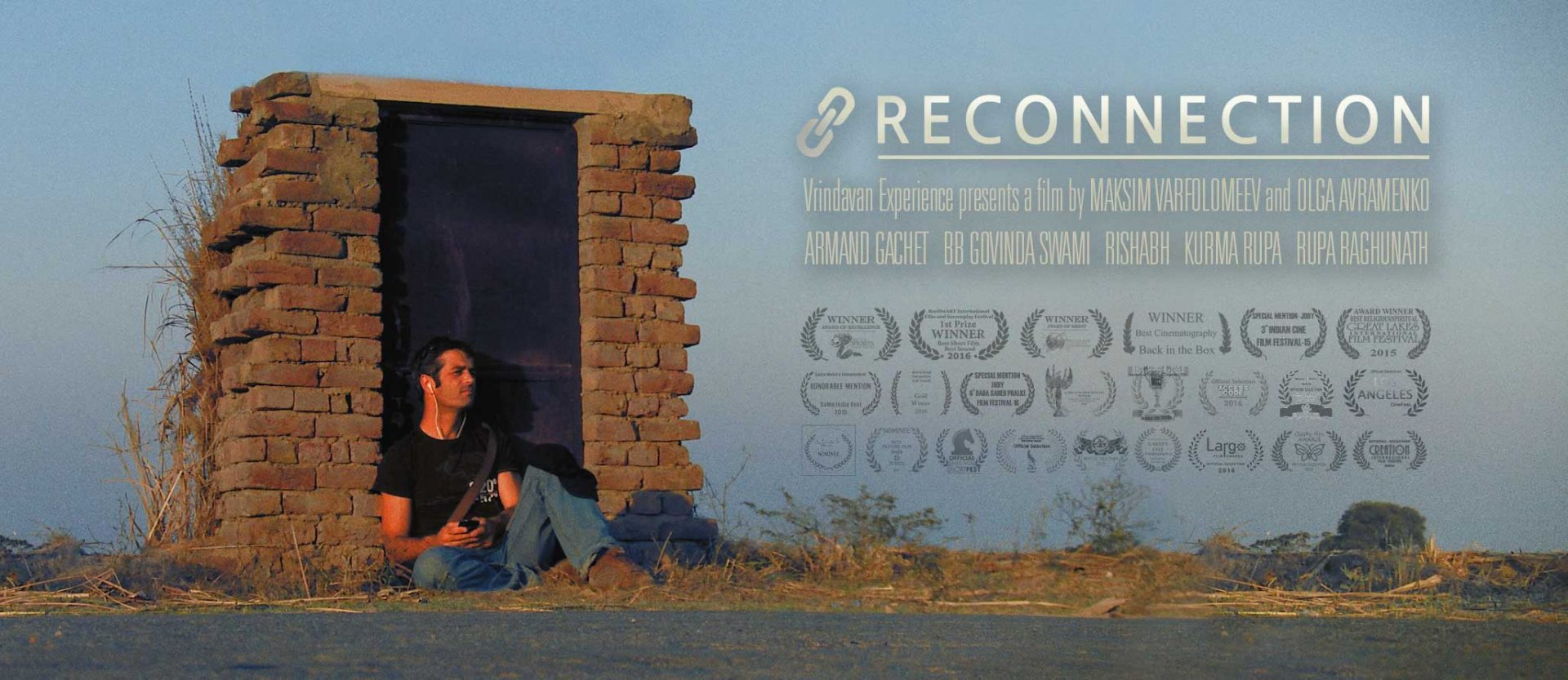 Banner of 'Reconnection', a multi-award winning film