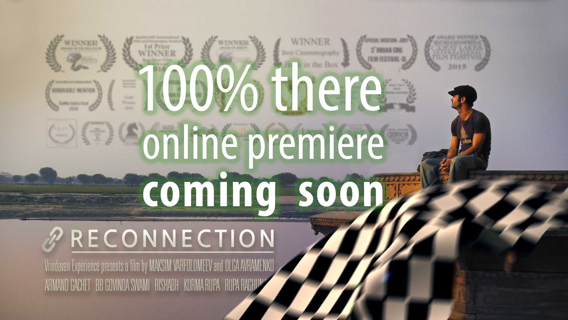 'Show Reconnection to the World' campaign: 100% success, Online Premiere is coming soon!
