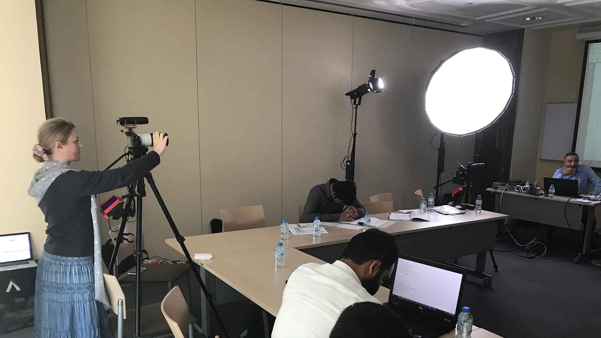 How To Make A Training Video - Tips For Staff - FIVE Pictures